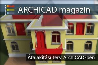 �talak�t�si terv ArchiCAD-ben