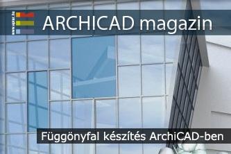 F�gg�nyfal k�sz�t�s ArchiCAD-el