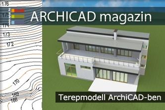 Terepmodell ArchiCAD-ben