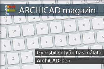 Gyorsbillenty�k haszn�lata ArchiCAD-ben