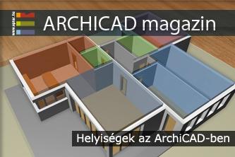 Helyis�gek az ArchiCAD-ben