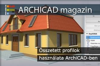 �sszetett profilok haszn�lata ArchiCAD-ben