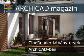 CineRender l�tv�nytervek ArchiCAD-ben