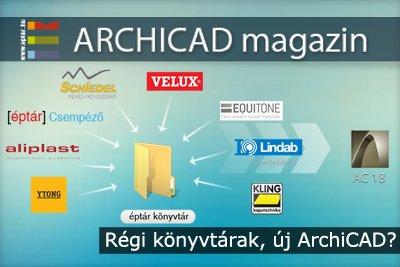 R�gi k�nyvt�rak, �j ArchiCAD?
