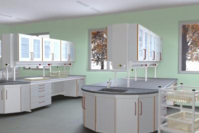 Laboratóriumi berendezések az ArchiCAD-ben