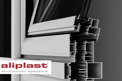 Megjelent az új Aliplast nyílászáró és függönyfal könyvtár