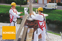 Schiedel - A t�bbs�g szak�rt� v�lem�ny�t kik�rve hozna d�nt�st �p�t�skor vagy fel�j�t�skor