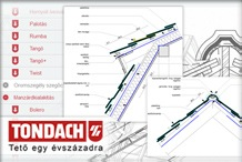 Tondach - Let�lthet� TONDACH csom�ponti rajzok