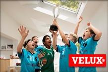 Velux - A VELUX C�gcsoport p�ly�zat �tj�n tet�t�ri ablakokat adom�nyoz amat�r sportkluboknak