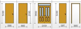 Ajtó és ablak konszignáció készítés ArchiCAD-ben