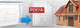 PDF/A formátumú tervek mentése az ArchiCAD-ből