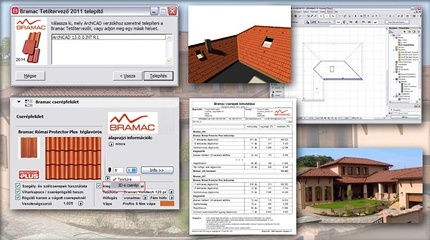 Bramac Rooftiling Solution for ArchiCAD