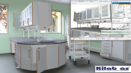Kilab Laboratory Furniture Library