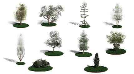 Plant Designer III. for ArchiCAD