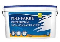 Poli-Farbe diszperziós homlokzatfesték