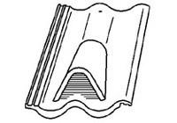 Bramac Szellőzőcserép sík cserepekhez