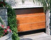Pegaso Civic alumíniumkeretes kapu fa borítással