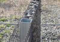 Gabion kerítések