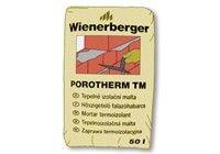 Porotherm TM hőszigetelő falazóhabarcs